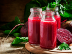 Consuming beetroot juice
