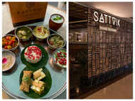 Sattvik, Proudly Vegetarian: For veg food which is not just Naan and Paneer