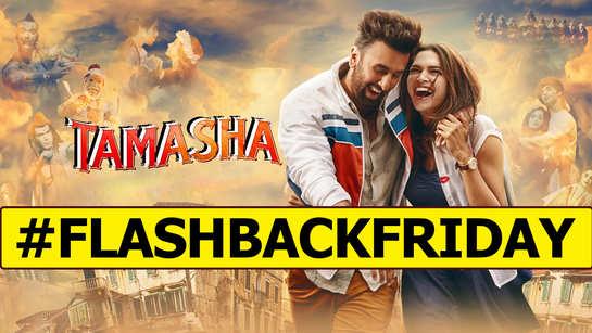 #FLASHBACKFRIDAY: Ranbir Kapoor and Deepika Padukone's 'Tamasha' completes 5 years