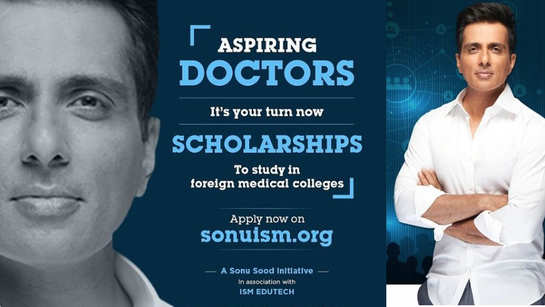 Sonu Sood announces Rs 5 lakh scholarships, launches a new platform for medical aspirants