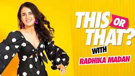 Exclusive: Radhika Madan's Delhi Vs Mumbai rapid fire! Watch the actress in a hilarious mode