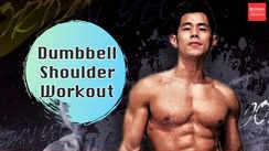 Dumbbell shoulder workout