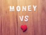Zodiac signs who are more likely to choose love over money