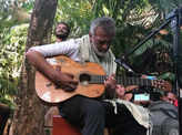 Viral pictures of musical maestro Lucky Ali from Goa
