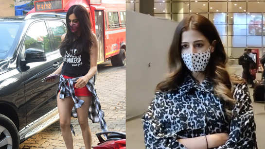 Adah Sharma, Nupur Sanon keep it casual as they step out in the city