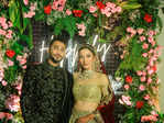 Gauahar Khan and Zaid Darbar's starry wedding reception