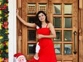 Actress Anju Kurian's Christmas photoshoot