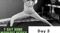 7-day home workout series with Garima Bhandari/Day 5 - Glutes Workout