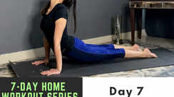 7-day home workout series with Garima Bhandari/Day 7 - Back workout