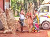 Preparation of Narkasur across Goa