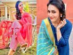 Divyanka Tripathi wishes with a desi touch