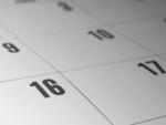 Schedule your calendar accordingly