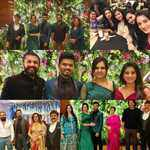 Sandalwood actors attend Ramesh Aravind daughter Niharika's wedding reception