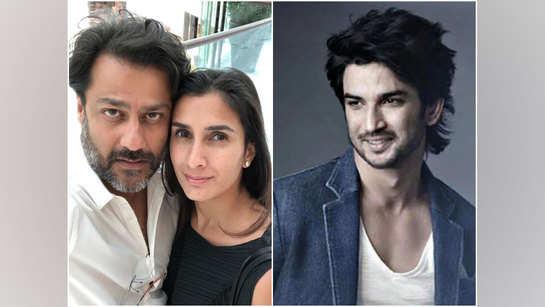 Abhishek Kapoor and wife Pragya tick a wish off SSR's bucket list on his birth anniv