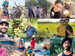 From Soori to Vidyut: Meet namma celebs who enjoy village life