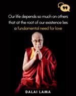 Dalai Lama on love