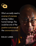 Dalai Lama on the idea of oneness