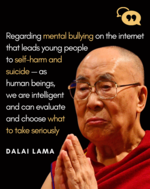 Dalai Lama on mental health