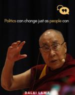 Dalai Lama on politics