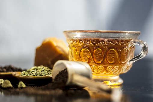 Gud Chai (Jaggery Tea)