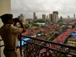 When Mumbai was painted orange