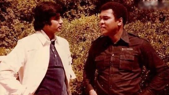 Amitabh Bachchan shares a priceless throwback photo with legendary boxer Muhammad Ali
