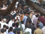 Maharashtra CM Uddhav Thackeray arrives