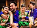 Siddharth Chandekar and Mitali Mayekar get married; take a look a the inside pics of the grand wedding