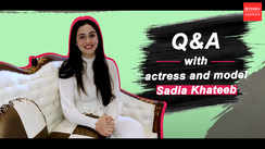 Q & A with actress and model Sadia Khateeb