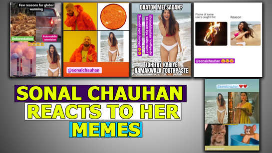 Sonal Chauhan reacts to her bikini shoot memes