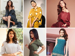 The super cute and colourful polka dots are back in vogue this year and Tollywood divas are nailing the look
