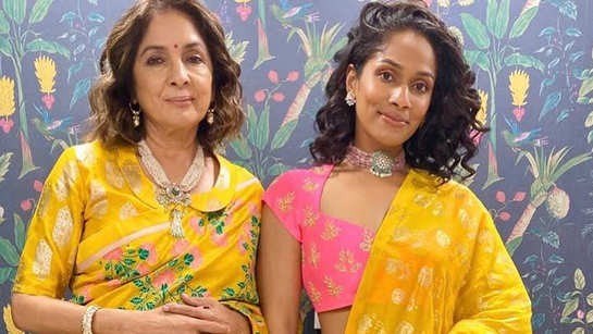 Masaba Gupta thanks Neena Gupta for keeping things real in front of her, says 'she is not a typical mom'