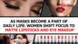 As masks become a part of daily life: Women shift focus to matte lipsticks and eye makeup