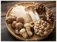 Eat mushrooms daily to increase vitamin D