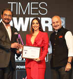 Times Women Of The Year 2020 Award