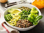 The vegan or vegetarian diet
