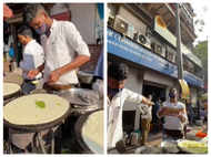 The viral video of flying dosa is breaking the internet