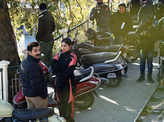Badhaai Do: On the sets