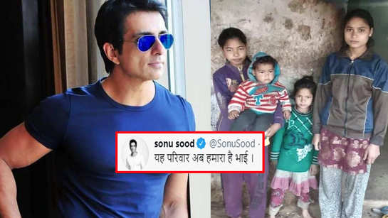 Sonu Sood comes forward to support the family of deceased Alam Singh Pundir, who lost his life in Uttarakhand glacier burst