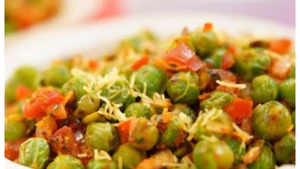 Watch: How to make Green Peas Chaat