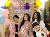 Lovely pictures from singer Harshdeep Kaur's baby shower ceremony