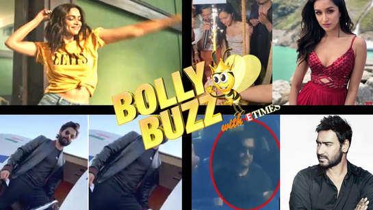 Bolly Buzz: Deepika Padukone's new ad accused of plagiarism; Man blocks Ajay Devgn's car