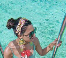 Erica Fernandes holidays in Maldives