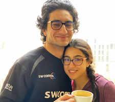 Sara's sweet b'day wish for Ibrahim