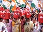 Protest against rising fuel prices
