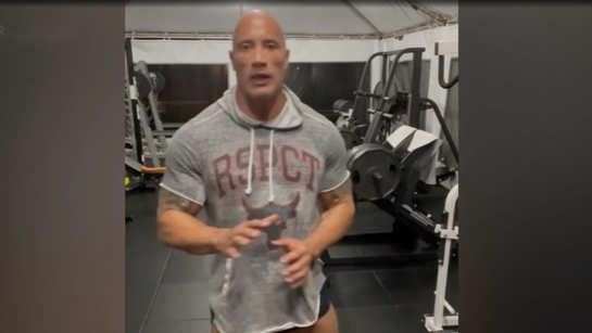 Dwayne Johnson aka The Rock shares his full training program for 'Black Adam'