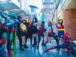 Cosplayers had all the fun at Gurgaon's Comic-Con