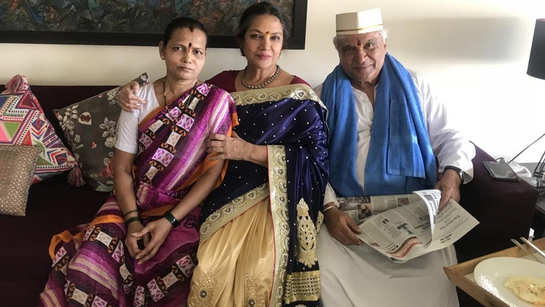 Shabana Azmi is very grateful for this generous gift she received from house help, says she loves her to death