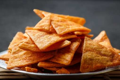 Leftover Chapati Crackers
