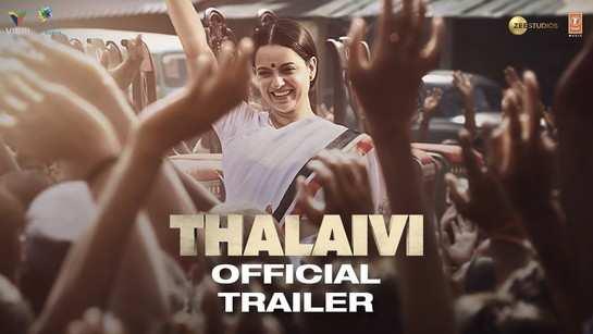 Thalaivi - Official Hindi Trailer